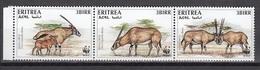 Eritrea - WWF / ANIMALS 1996 MNH - Eritrea