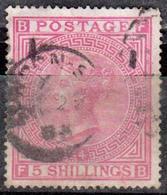 GRANDE BRETAGNE Great Britain - 1867 - N° 40 Oblitéré - 1840-1901 (Victoria)