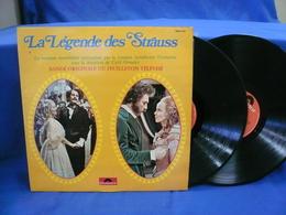 La Legende Des Strauss 33t X2 Vinyles BO Du Feuilleton Télevise - Soundtracks, Film Music
