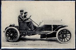 "AUTOMOBILE ANCIENNE - PILOTE "" NAZZARO "" SUR VOITURE FIAT - BEAU PLAN - Non Classificati"
