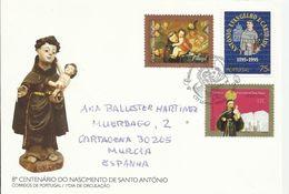 Portugal. 1995. 800 Aniversario Del Nacimiento De San Antonio. - FDC