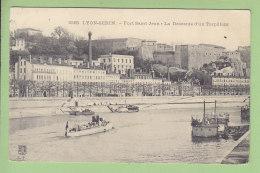 Lyon Serin : Fort Saint Jean, La Descente D'un Torpilleur. 2 Scans. Edition Farges - Lyon