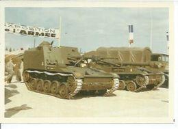 """PHOTO D'ARCHIVES :  """" OB 105 50 AU """" ET """" CN 155 F3 AU """" CANON AUTOMOTEUR DE 105mm Sur Chassis """" AMX 13 - Matériel"""