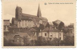 Eglise De Lobbes, Vue De Chemin De Fer. - Lobbes