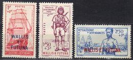 Wallis Et Futuna N° 87-89 ** - Ungebraucht