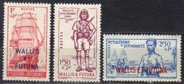 Wallis Et Futuna N° 87-89 ** - Nuovi