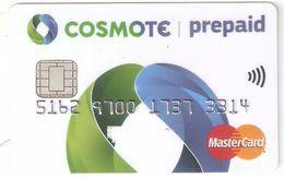 Greece-Cosmote Prepaid Mastercard,unused - Geldkarten (Ablauf Min. 10 Jahre)