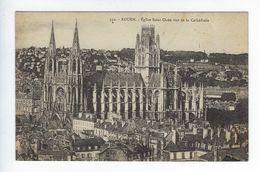 CPA Précurseur Rouen Église Saint Ouen Vue De La Cathédrale N° 350 - Rouen