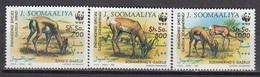 Somalia - WWF / ANIMALS 1992 MNH - Somalia (1960-...)