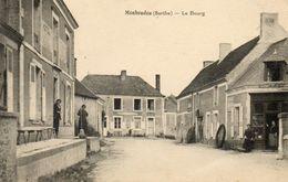 CPA - MONHOUDOU (72) - Aspect Du Centre Du Bourg En 1929 - France