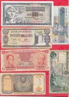 Pays Du Monde 13 Billets Dans L 'état Voir Scan Lot N °410 - Alla Rinfusa - Banconote