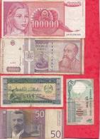Pays Du Monde 16 Billets Dans L 'état Voir Scan Lot N °412 - Alla Rinfusa - Banconote