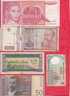 Pays Du Monde 16 Billets Dans L 'état Voir Scan Lot N °412 - Coins & Banknotes
