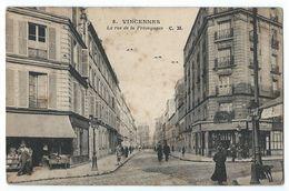 Vincennes - La Rue De La Prévoyance - Vincennes