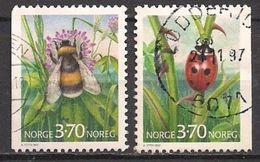 Norwegen  (1997)  Mi.Nr.  1235 + 1236  Gest. / Used  (3ev24) - Gebraucht