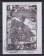 2009 - VATICAN - Vatican City State, 80th Anniv. - Sc# 1410 - Sheet - Used - Blocks & Sheetlets & Panes