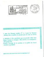 AVEYRON - Dépt N° 12 = DECAZEVILLE 1974 = FLAMME FDC = SECAP Illustrée  'du Trésor De CONQUES à La Découverte' - Oblitérations Mécaniques (flammes)