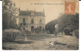 CPA. 45. BRIARE. Chateau De La Thiau. LLD édit. écrite. SD. - Briare