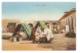 AFRICA - MARCHÉ ARABE / ARAB MARKET - EDIT E.M.T. - 1920s ( 2219) - Cartoline