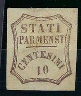 Italie, Parme, N° 13 A * Variété, Le 1 Est Renversé TB - Parma