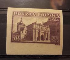 Poland 1945,Gdansk (Danzig),Imperf,Sc 372,VF MLH*OG - 1944-.... Republic