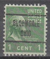 USA Precancel Vorausentwertung Preo, Locals Ohio, Bloomdale 723 - Vereinigte Staaten