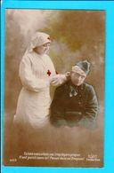 Cpa Carte Postale  Ancienne - Croix Rouge Infirmière - Croce Rossa