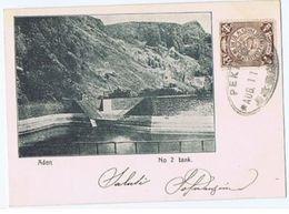 YEMEN - ADEN - N. 2 TANK - MAILED FROM PEKING / TIENTSIN - STAMPS 1902 (2225) - Yemen