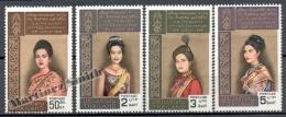 Thailande - Thailand 1968 Yvert 502-05, Anniversary Of The Queen Sirikit Kitiyakara - MNH - Thailand