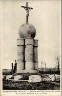 49 - TREMENTINES - Calvaire - Architecte M. LAURENTIN  Carte Adressée à M. Laurentin - France