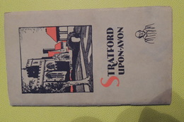 STRATFORD UPON AVON / 65 PAGES / 1920 - 1930 - Cultural