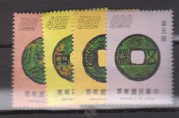 TAIWAN      1975      N .   1015 / 1018        COTE        6 , 00    EUROS         ( S 920 ) - Unused Stamps