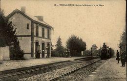 44 - TREILLIERES - Gare - Train - France