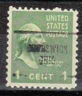 USA Precancel Vorausentwertung Preo, Locals Ohio, Brunswick 704 - Vereinigte Staaten