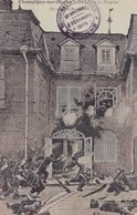 Champigny Sur Marne Guerre De 1870 La Surprise Guerre Militaire Soldat Tampon Souvenir - Champigny Sur Marne