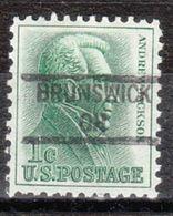 USA Precancel Vorausentwertung Preo, Locals Ohio, Brunswick 841 - Vereinigte Staaten