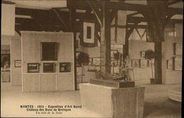 44 - NANTES - Exposition D'art Naval - Chateau - Maquette Bateau - Nantes