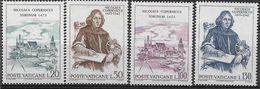 1973 VATICAN 558-61** Copernic, Astronomie - Vatican