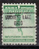 USA Precancel Vorausentwertung Preo, Locals Ohio, Buckeye Lake 734 - Vereinigte Staaten