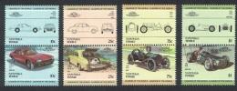 Tuvalu Nanumaga Classic Cars 8v Pairs 3rd Series SC#6=21 - Tuvalu