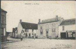 Marne : Crugny, La Place - France