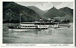 10014    AK  CPA  Rheindampfschiffahrt   Köln - Düsseldorf  Dampfer   Kaiser Wilhelm  1936 - Koeln