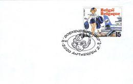 BELGIQUE 2528 FDC Premier Jour NATACHA NATASJA Cachet ANVERS François WALTHERY 08 - Comics