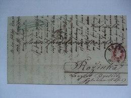 Austria - 1865 Entire - Brunn To Rozinka - Bystritz Czech Bohmen - Covers & Documents