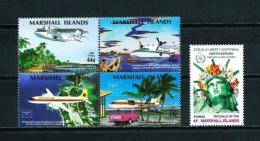 Islas Marshall  Nº Yvert  A-3/6-7  En Nuevo - Islas Marshall