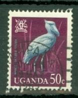 Uganda: 1965   Birds   SG119    50c    Used - Uganda (1962-...)