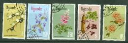 Uganda: 1969/74  Flowers To 10/-    Used - Uganda (1962-...)