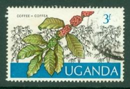 Uganda: 1975   Ugandan Crops  SG158    3/-    Used - Uganda (1962-...)