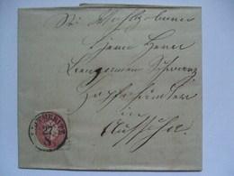 Austria - 1865 Entire - Leitmeritz Bohmen - 1850-1918 Empire