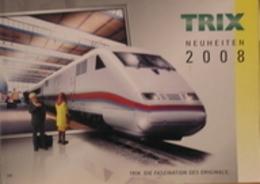 Catalogo Treni TRIX Novità 2008 - Scala HO